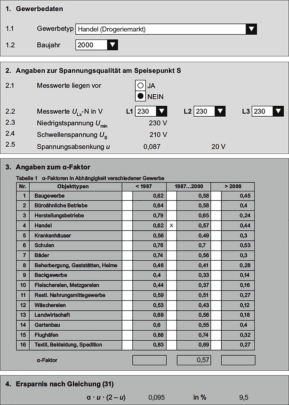 Formblatt VDE-AR-E-2055-1 / © Hamburger Akademie 2016